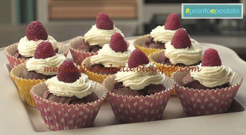 Pronto e postato - Red velvet cupcakes ricetta Benedetta Parodi
