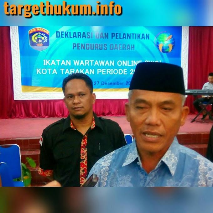 Walikota Menyambut Baik Hadirnya IWO di Tarakan