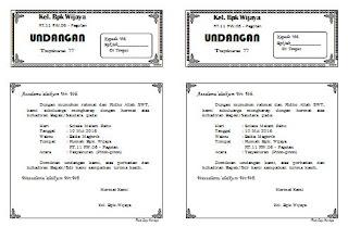 Download Undangan tasyakuran piton-piton Ukuran f4 jadi 2