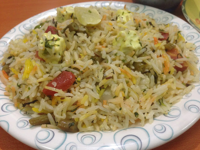 Vegetable Pulao - Plattershare - Recipes, Food Stories And Food Enthusiasts