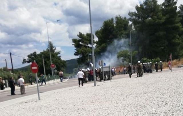 Δύο ΟΥΚάδες μεταξύ των συλληφθέντων στα επεισόδια της Μαλακάσας