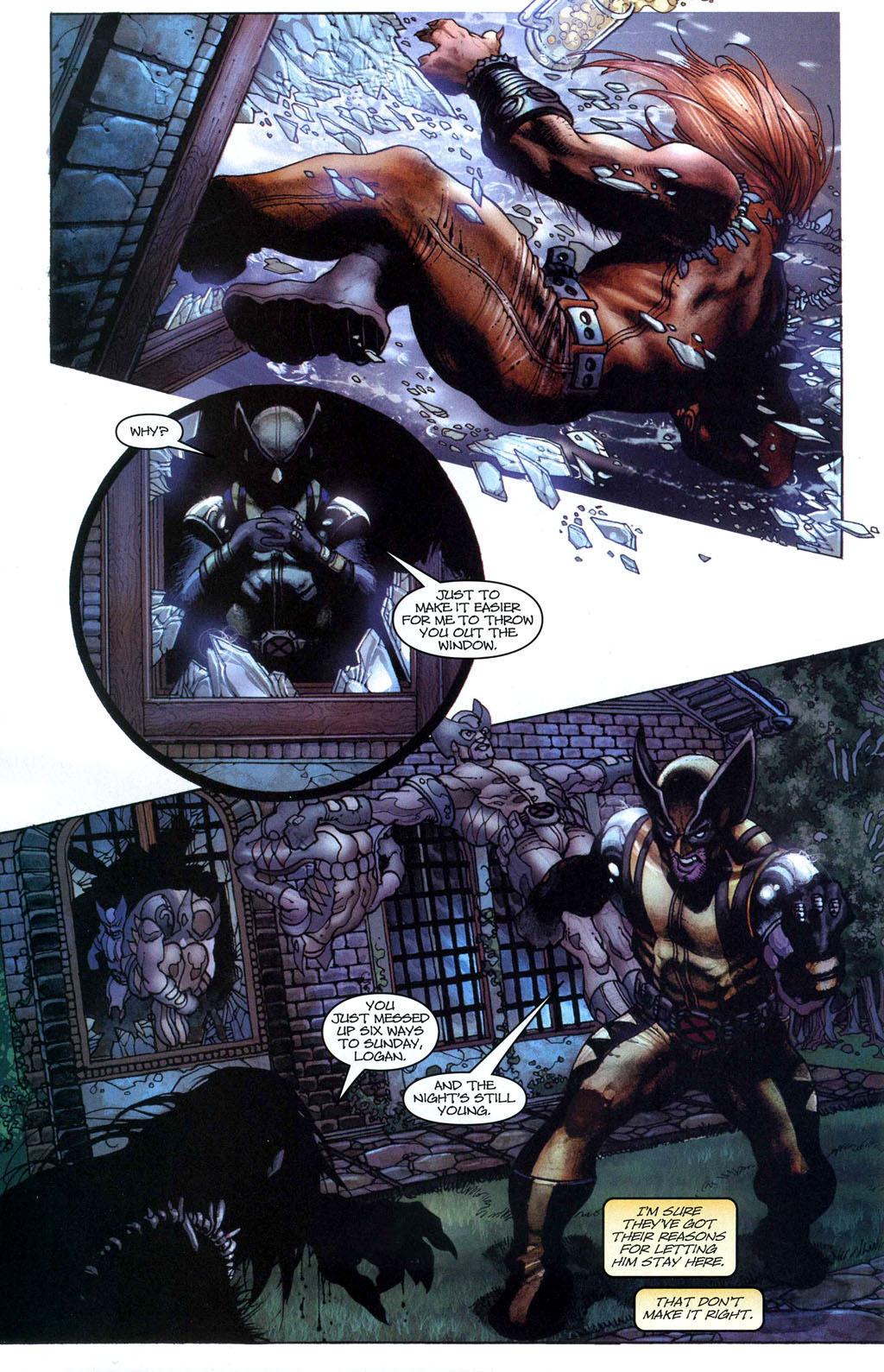 Read online Wolverine (2003) comic -  Issue #50 - 8