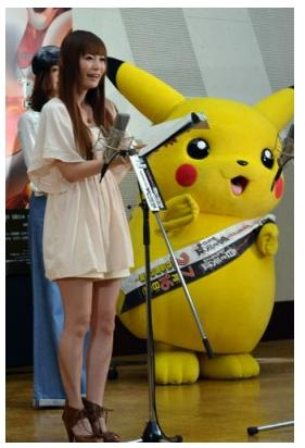 Voice cast for new Pokémon movie includes Ishihara Satomi