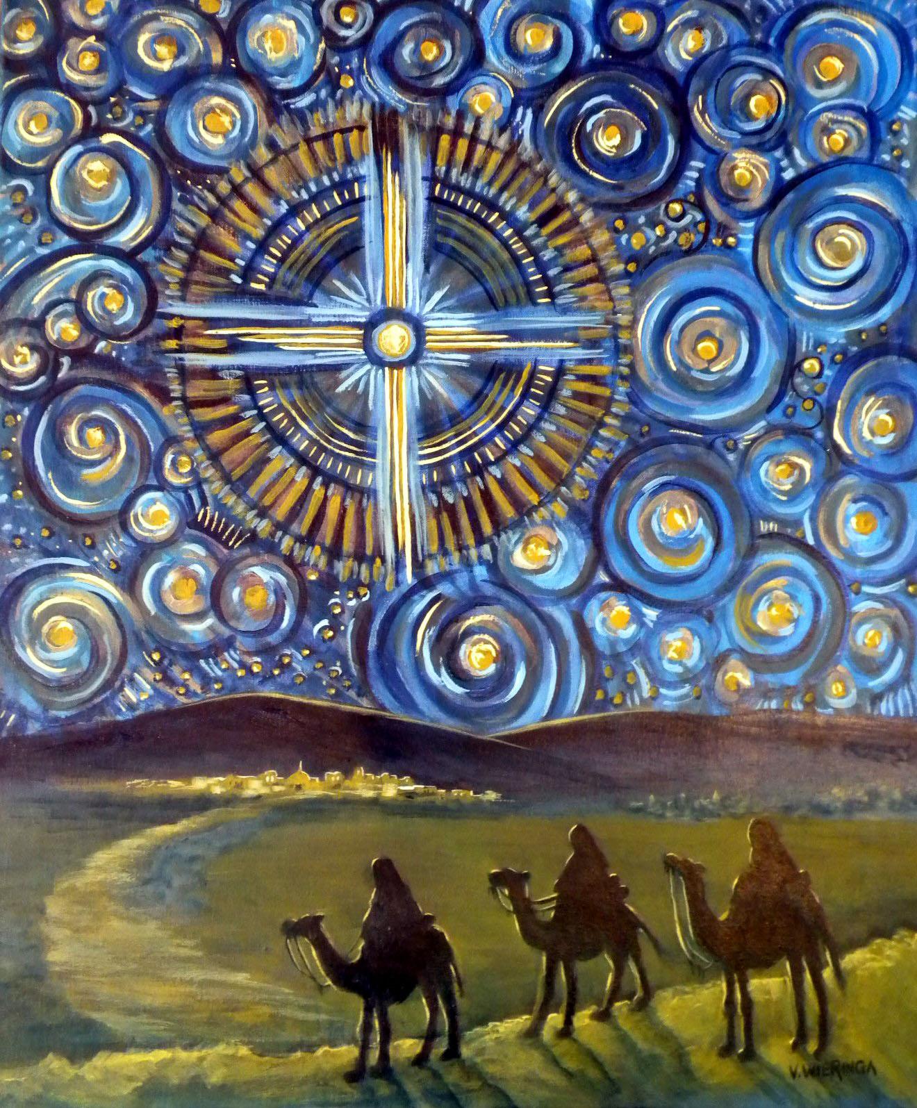 Art Along The Way Advent Artwork