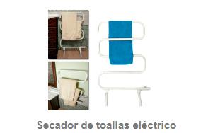 Secador de toallas eléctrico