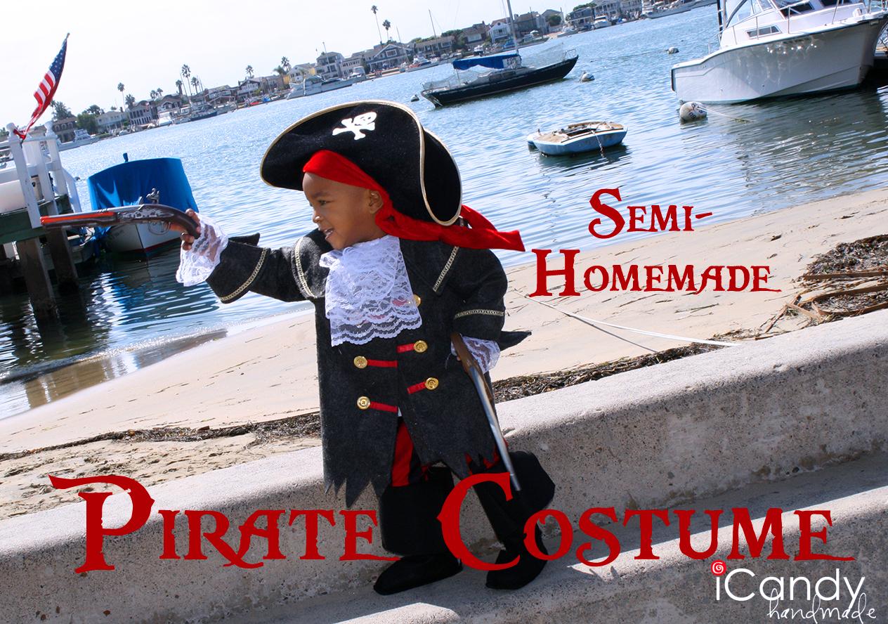 & Semi-Homemade Pirate Costume: DIY Pirate Boots