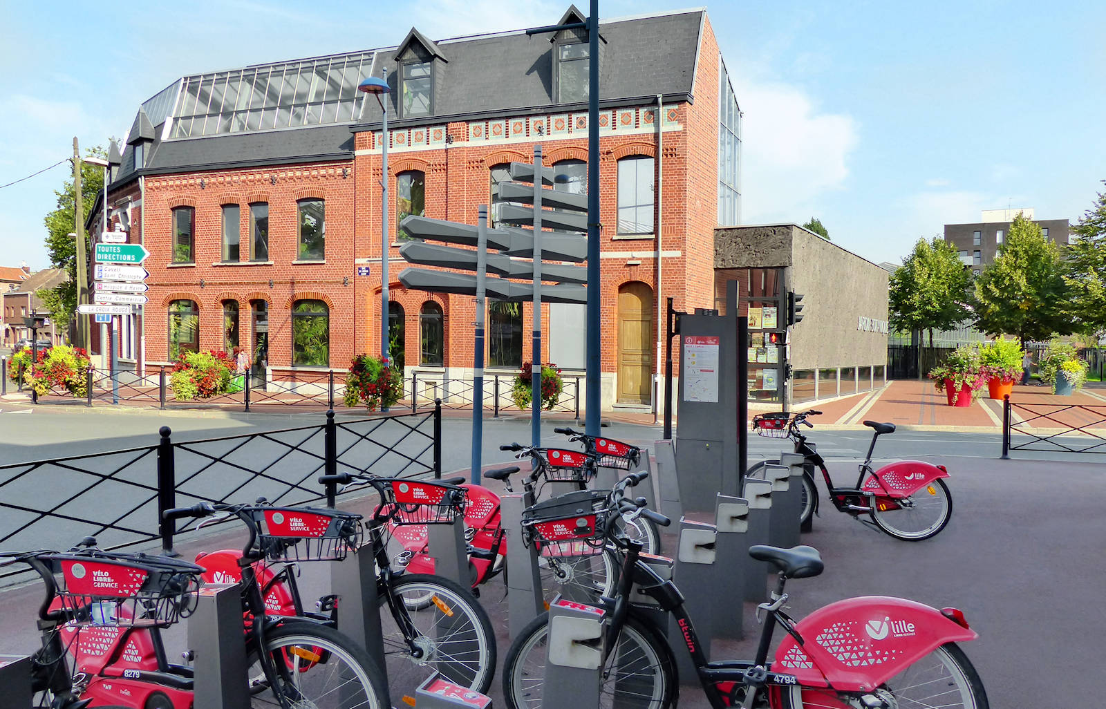 Station V'Lille Jardin botanique, Tourcoing