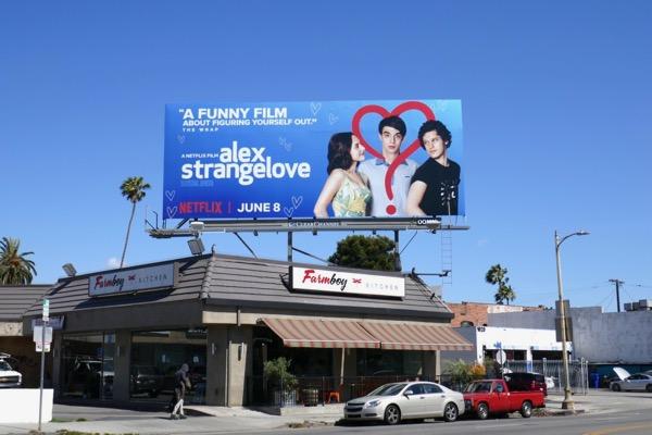 Alex Strangelove Netflix billboard
