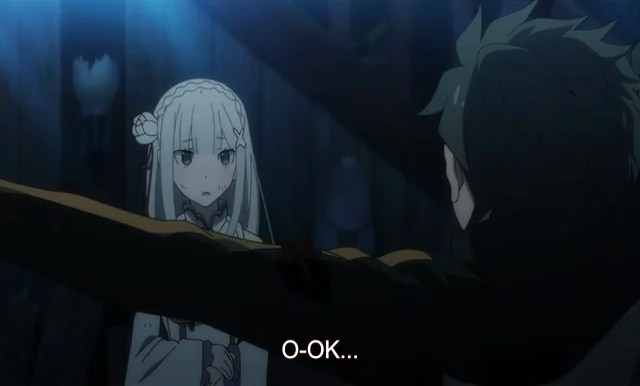 Scene re zero ciri khas anime jepang