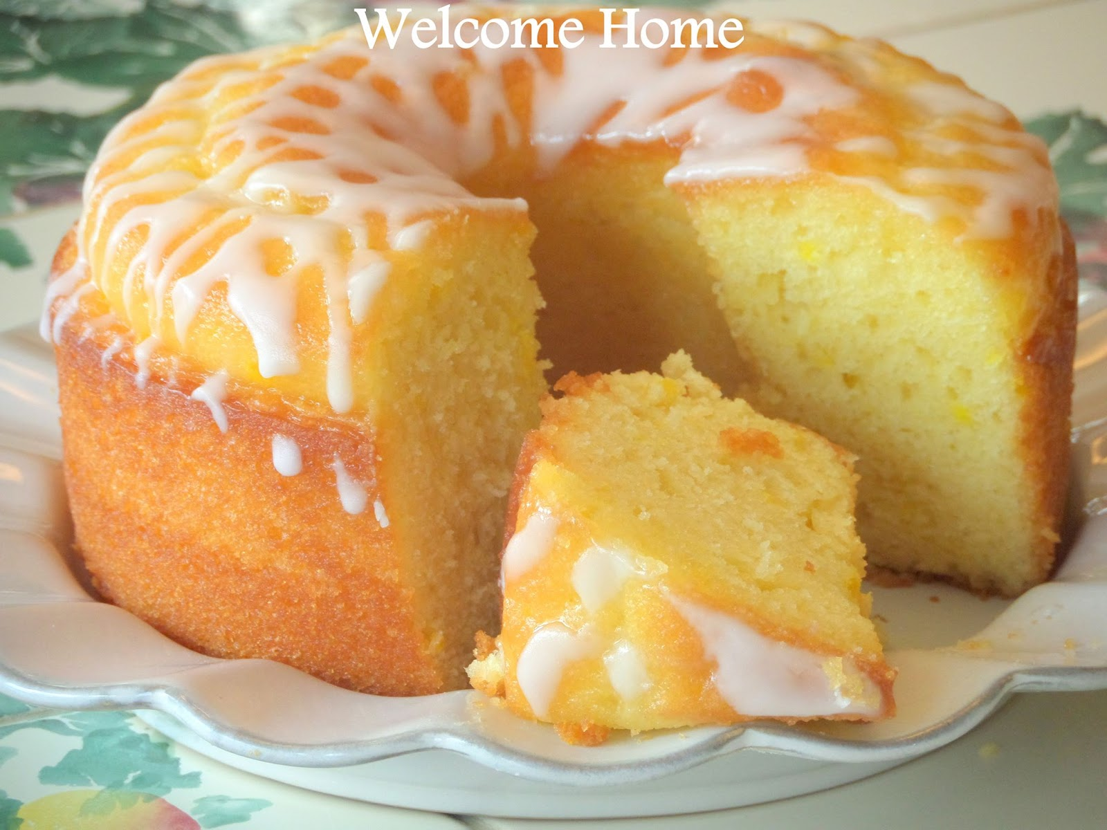 Lemon Cooler Bundt Cake Recipe