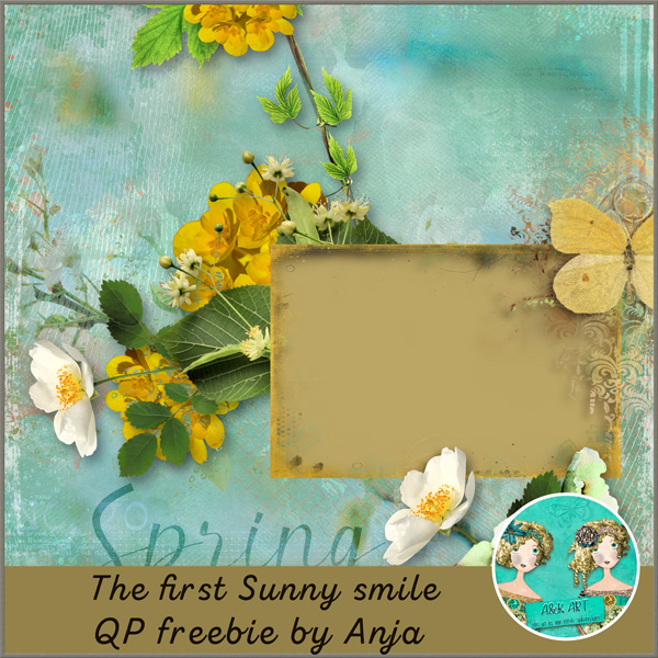 THE FIRST SUNNY SMILE & FREEbie