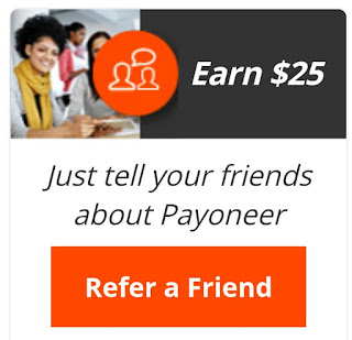payoneer refer a friend $25