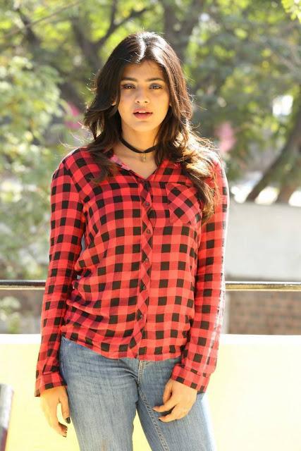 Hebah Patel Stills At Nanna Nenu Naa Boyfriends Movie Success Meet