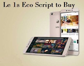 Trick/Script to Buy LeTv Le 1s Eco Successfully in Flipkart Flash Sale