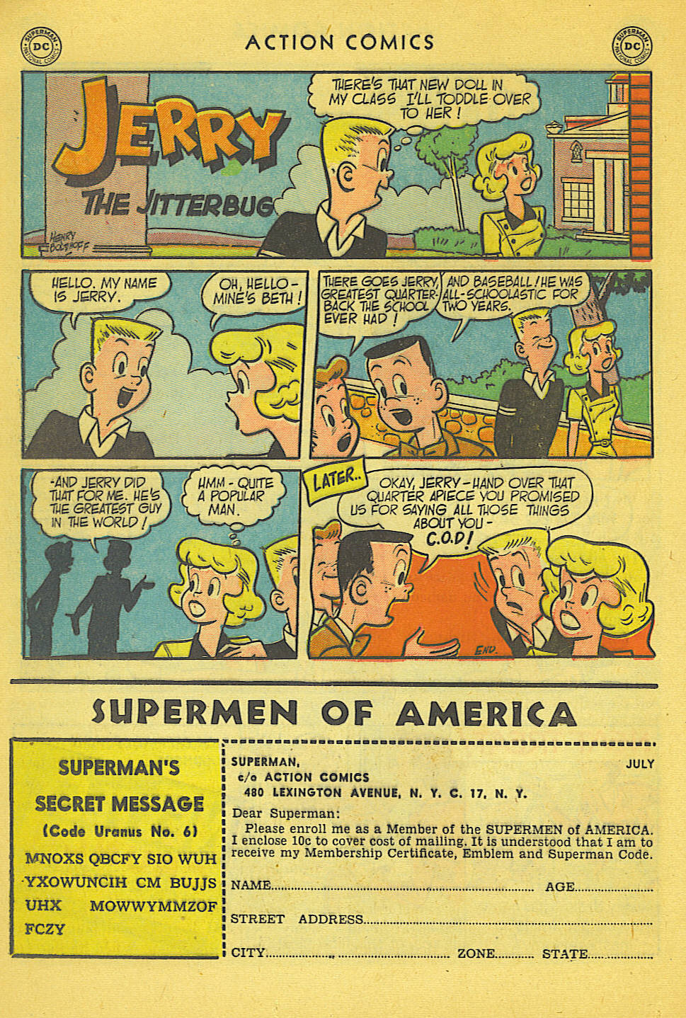Read online Action Comics (1938) comic -  Issue #158 - 31
