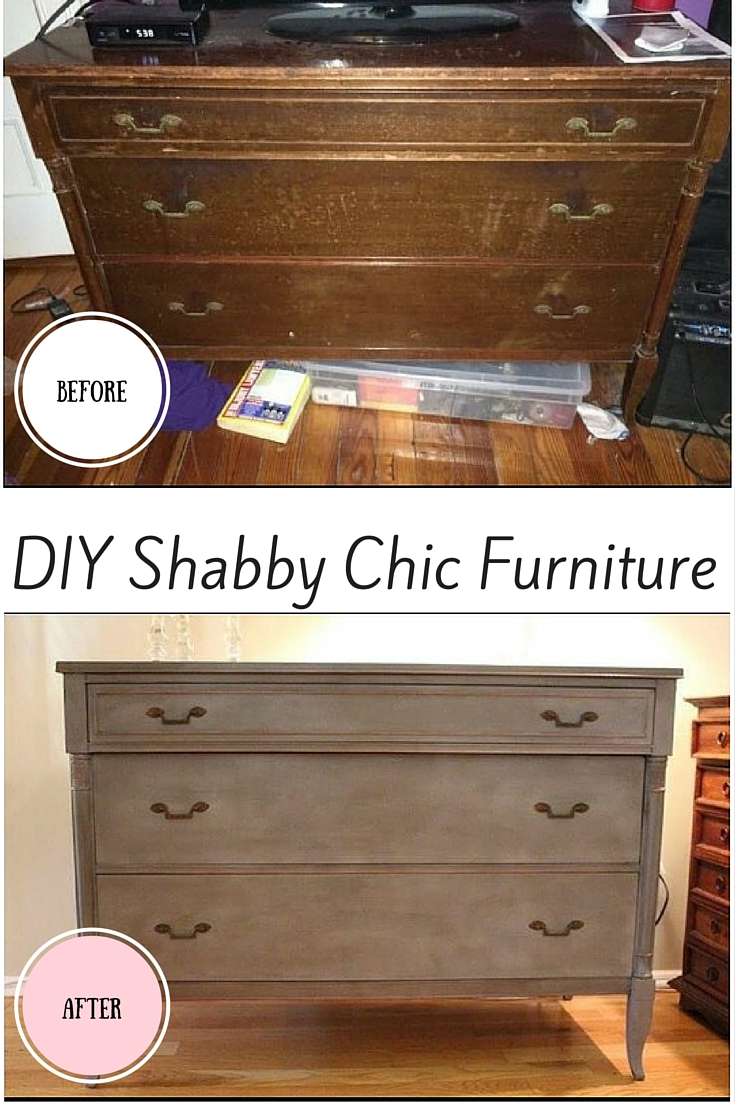 How To Shabby Chic Furniture Easy Diy Instructions