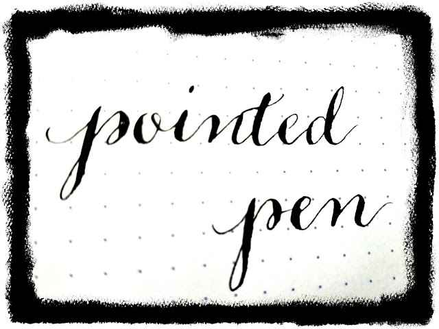 Pointed Pen Calligraphy--Modern Calligraphy