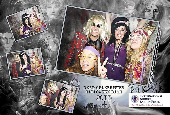 Event ISSP Halloween | Chụp hình in ảnh lấy liền Photobooth Fotomoto
