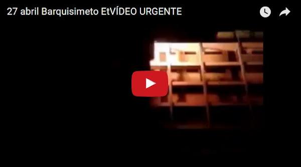 Noche de terror con la GNB en Barquisimeto