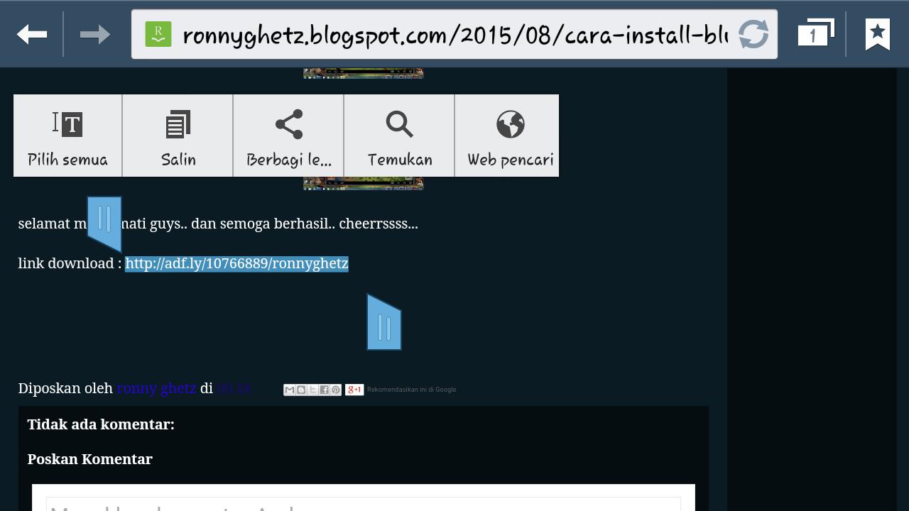 Langkah Mendownload Sebuah File Dari Halaman Web
