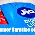 Reliance Jio Summer Surprise' offer  जुलाई तक फ्री सेवाएं जारी रहेंगी