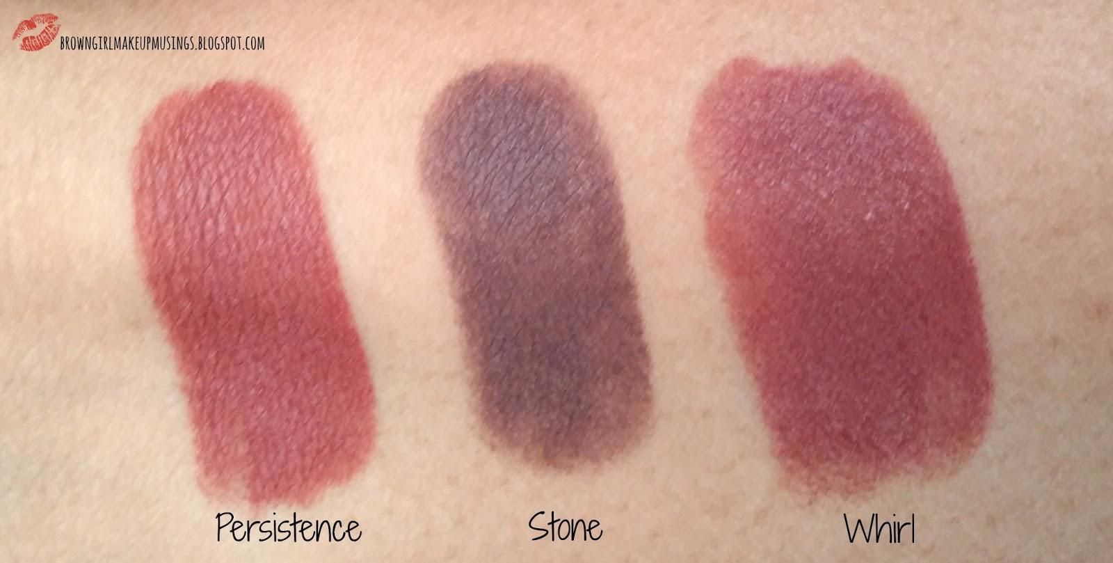 Gemeinsame Brown Girl Makeup Musings: MAC The Matte Lip Collection Review &IK_37
