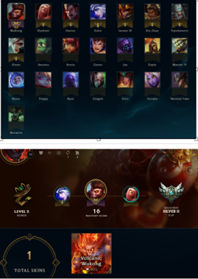 s-l500 For Sale League of legends Account   NA   Silver 2   22 Champ 1Skins $13 Games