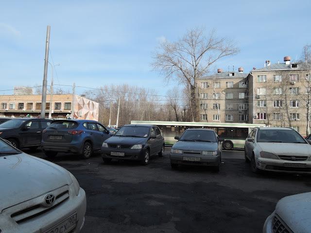 автомобильная стоянка щелковская