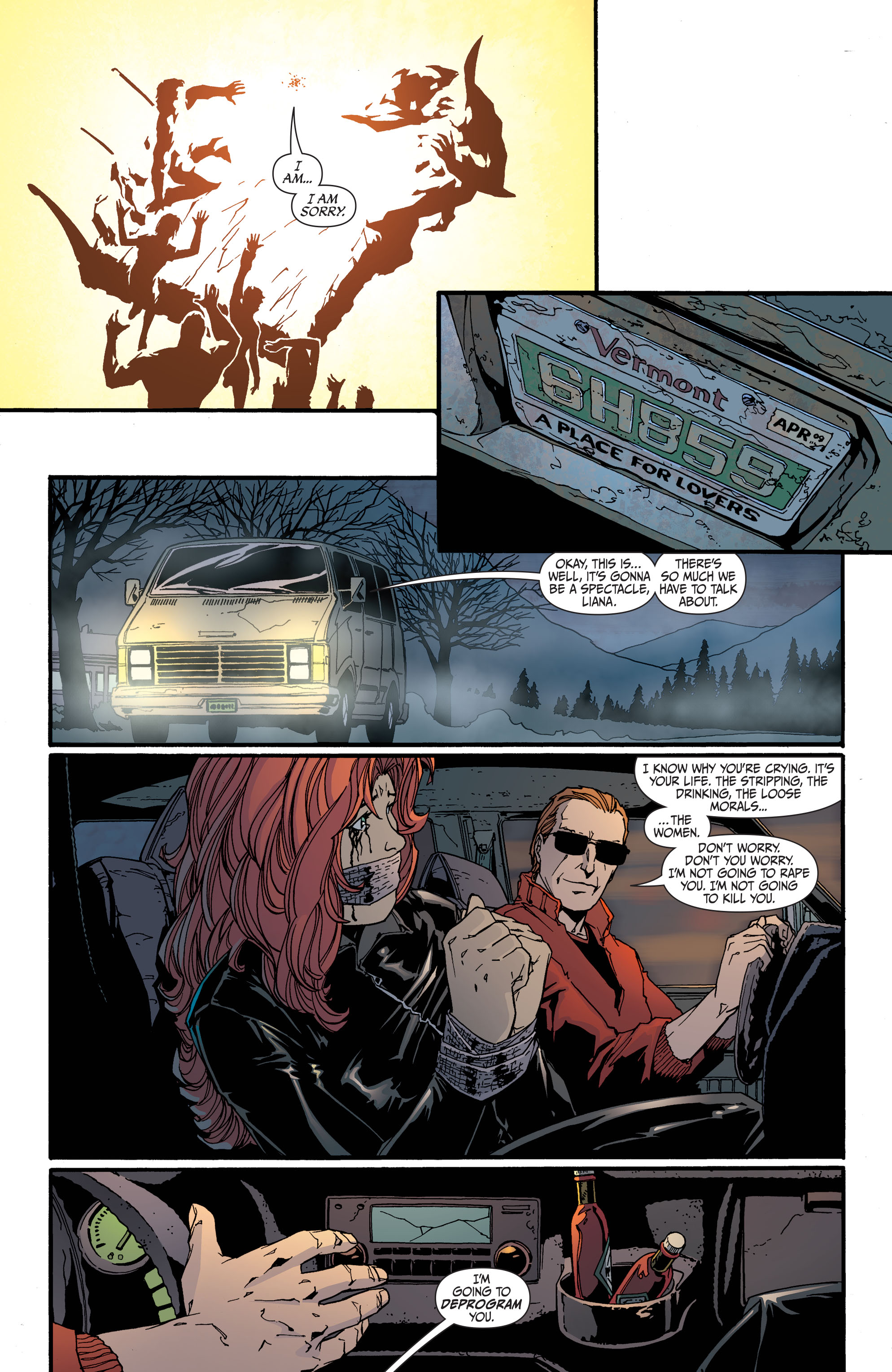 Read online Secret Six (2008) comic -  Issue #31 - 18