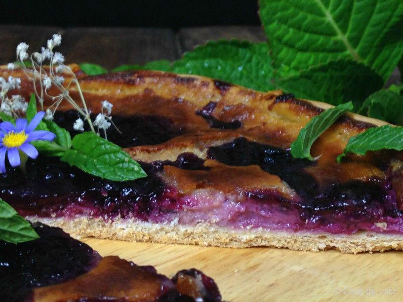 galette, blueberry-galette, galette-de-arandanos
