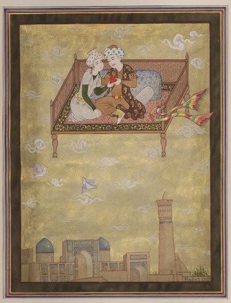 Ouzbékistan, Boukhara, Madina, miniature, tapshan, tapchane, © L. Gigout, 2012