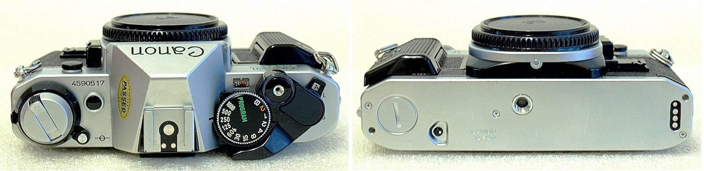 Canon AE-1 Program (Chrome) Body #517