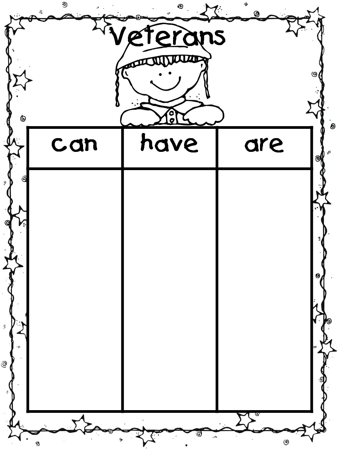 Workbooks inflectional endings first grade worksheets : Veterans Day Unit- Thank You Veterans! | First Grade Wow | Bloglovin'