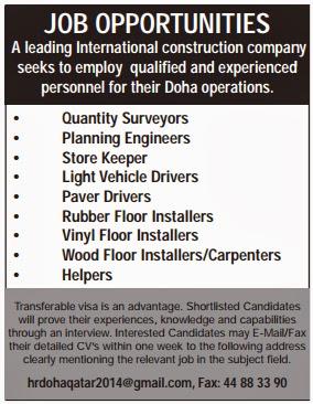 Store Helper Jobs In Qatar