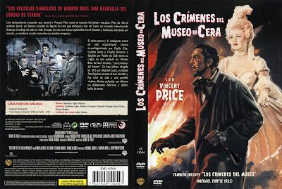 Carátula dvd: Los crímenes en el museo de cera