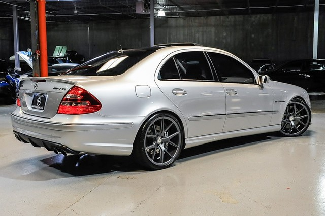 2004 mercedes benz w211 e55 amg on 20 verde axis wheels benztuning. Black Bedroom Furniture Sets. Home Design Ideas