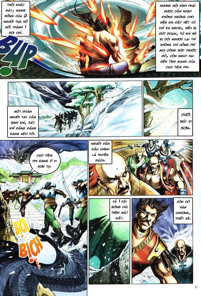 Anh hùng vô lệ Chap 6: Anh hùng hữu lệ trang 27