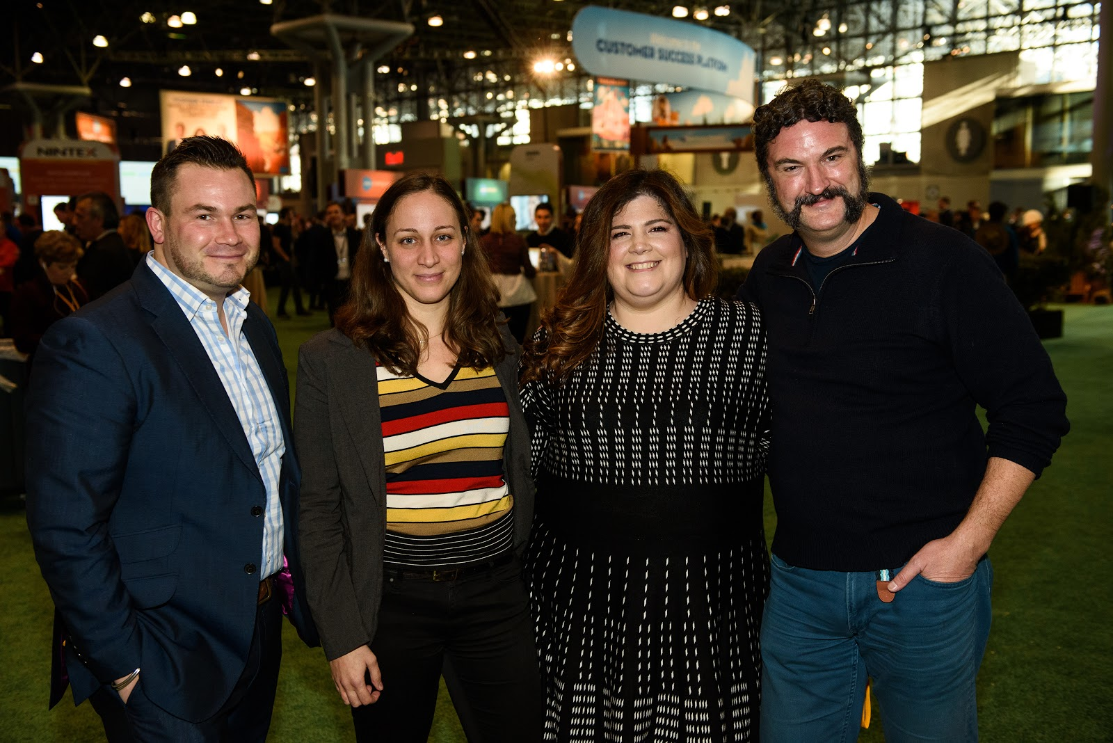 "Tigh Loughhead at the Salesforce World Tour: ""Meet the New York Trailblazer Community Group Leaders"" with Becky de Loryn, Cheryl Feldman, Luke Cushanick and Amy Bucciferro."