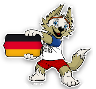 world cup mascot 2018