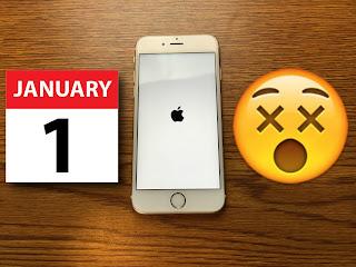L'iPhone non centra nulla, ma mi sembra comunque una immagine rappresentativa del Primo Gennaio