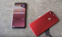 Pilih Samsung S8+ atau iPhone 7+
