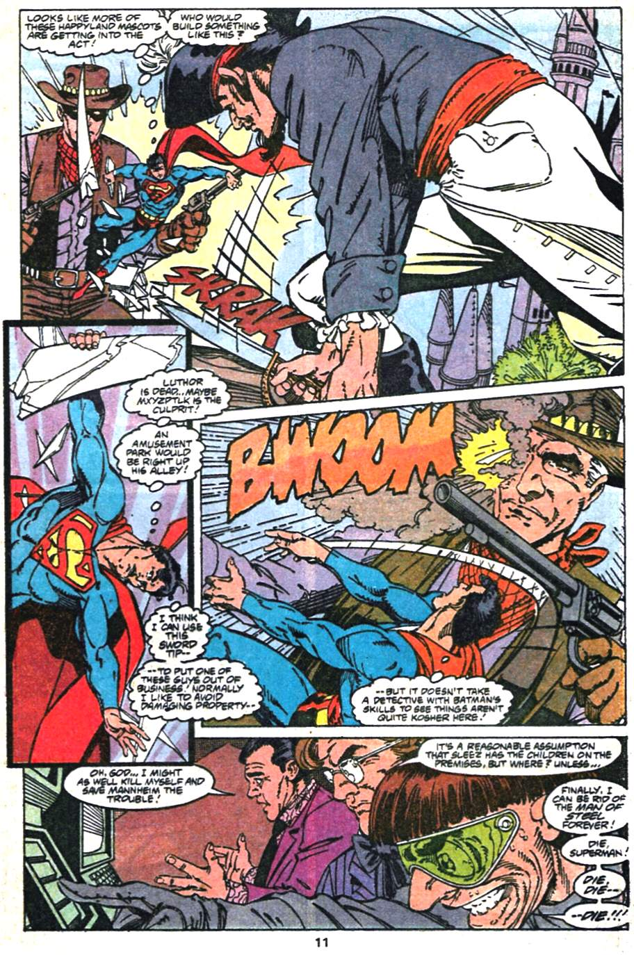 Read online Adventures of Superman (1987) comic -  Issue #475 - 12