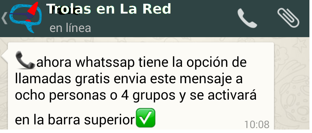 Llamadas WhatsApp