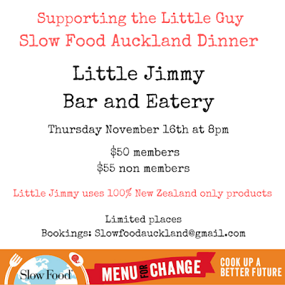 BOOK: Still Room for You at Little Jimmy on Thursday – 100% New Zealand Food
