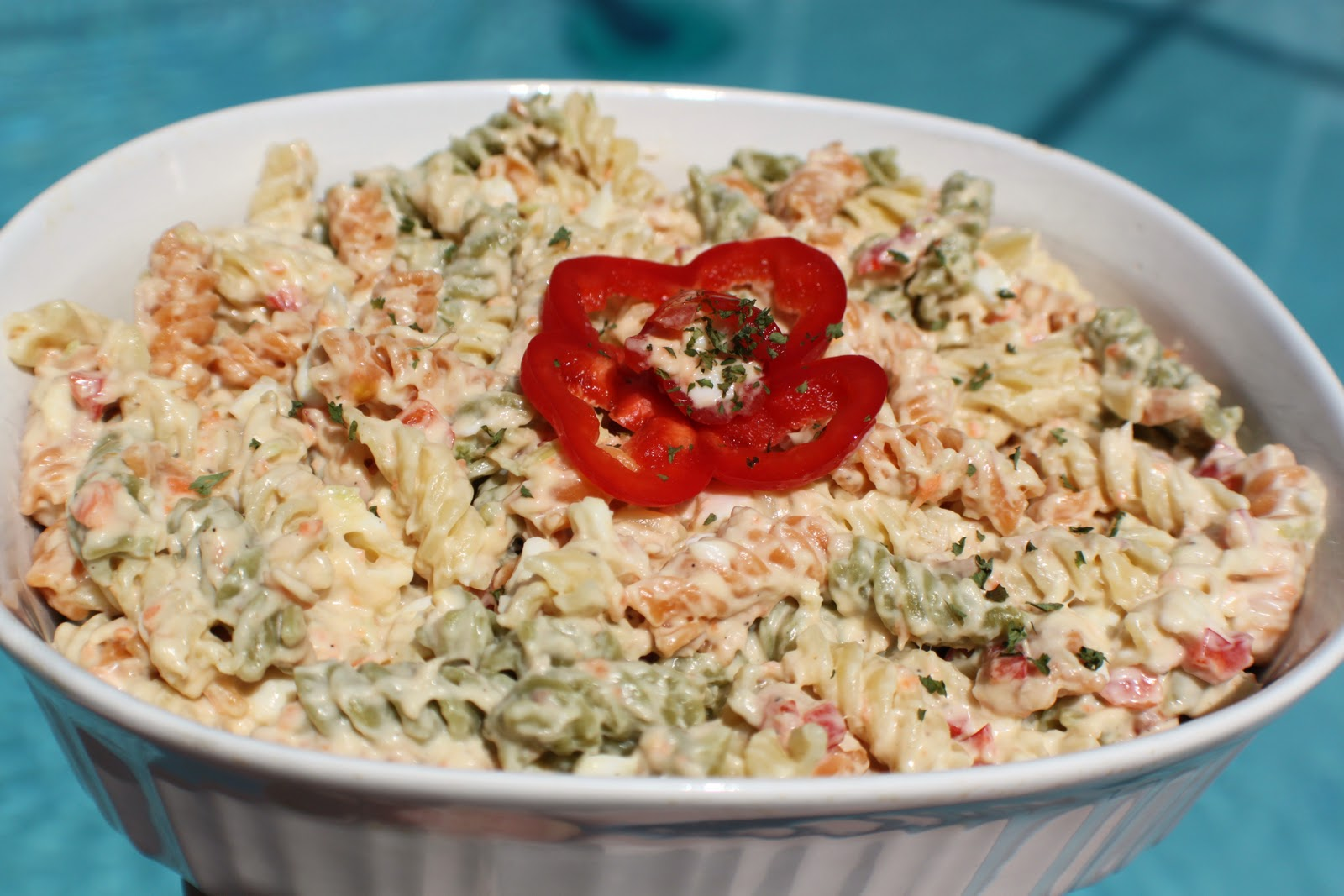 Italian style tuna macaroni salad what 39 s cookin 39 italian for Macaroni salad with tuna fish