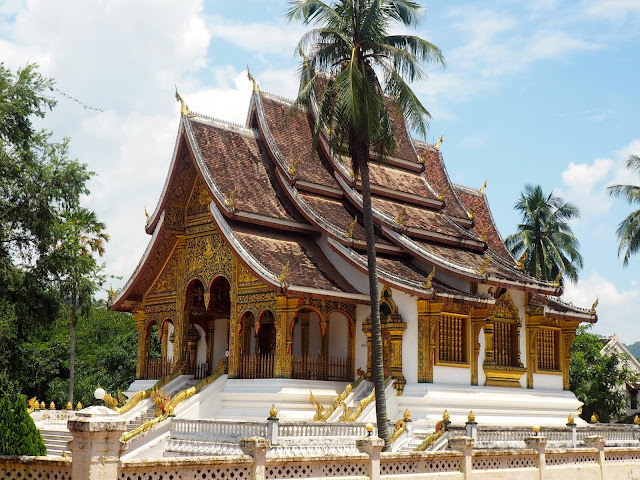 Buddhist temple in Luang Prabang, Laos