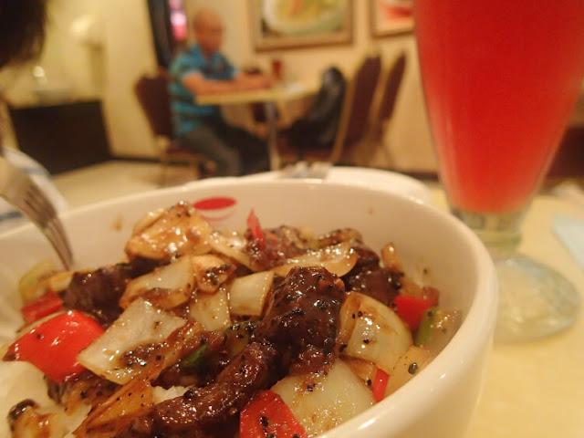 sapi lada hitam rice bowl