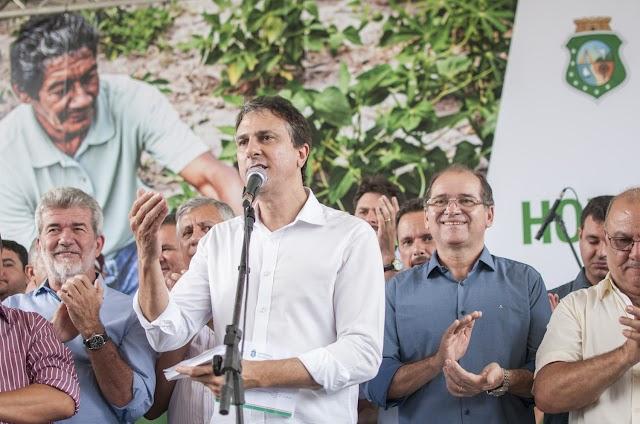 Governador Camilo Santana lança o Hora de Plantar 2017