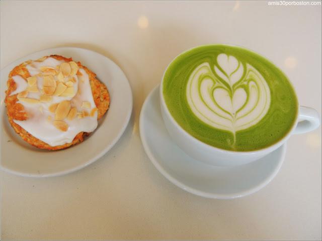 Matcha en Cafeterías de Boston: 3 Little Figs