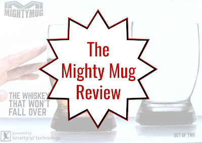 The Mighty Mug review.  Check out how these amazing cups, wine glasses and more won't get accidentally knocked over if you bump them.